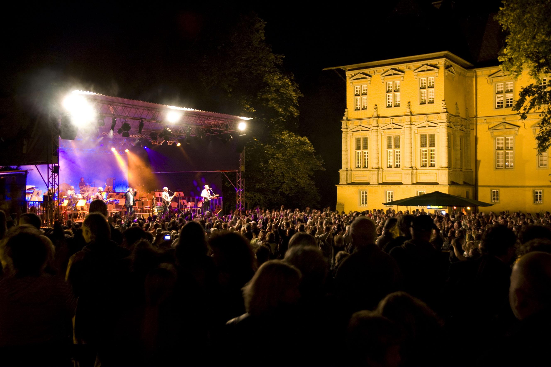 Die Athmosphäre beim Konzert von FUN & Friends im Jahr 2012