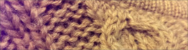 Ein Pullover aus kratziger irischer Wolle fotografiert von Susanne Böhling