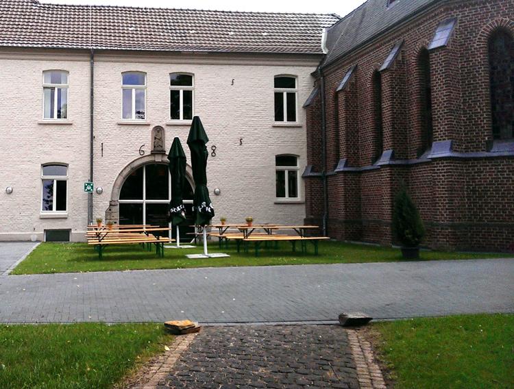 Anlage von St. Martinus, Seniorenstift in Wevelinghofen, Ortsteil von Grevenbroich