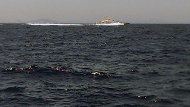 Ein Boot der türkischen Küstenwache