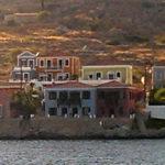 Halkis Architektur ist anders als auf anderen griechischen Inseln