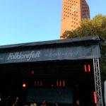 Strahlender Sonnenschein beim Folklorefest