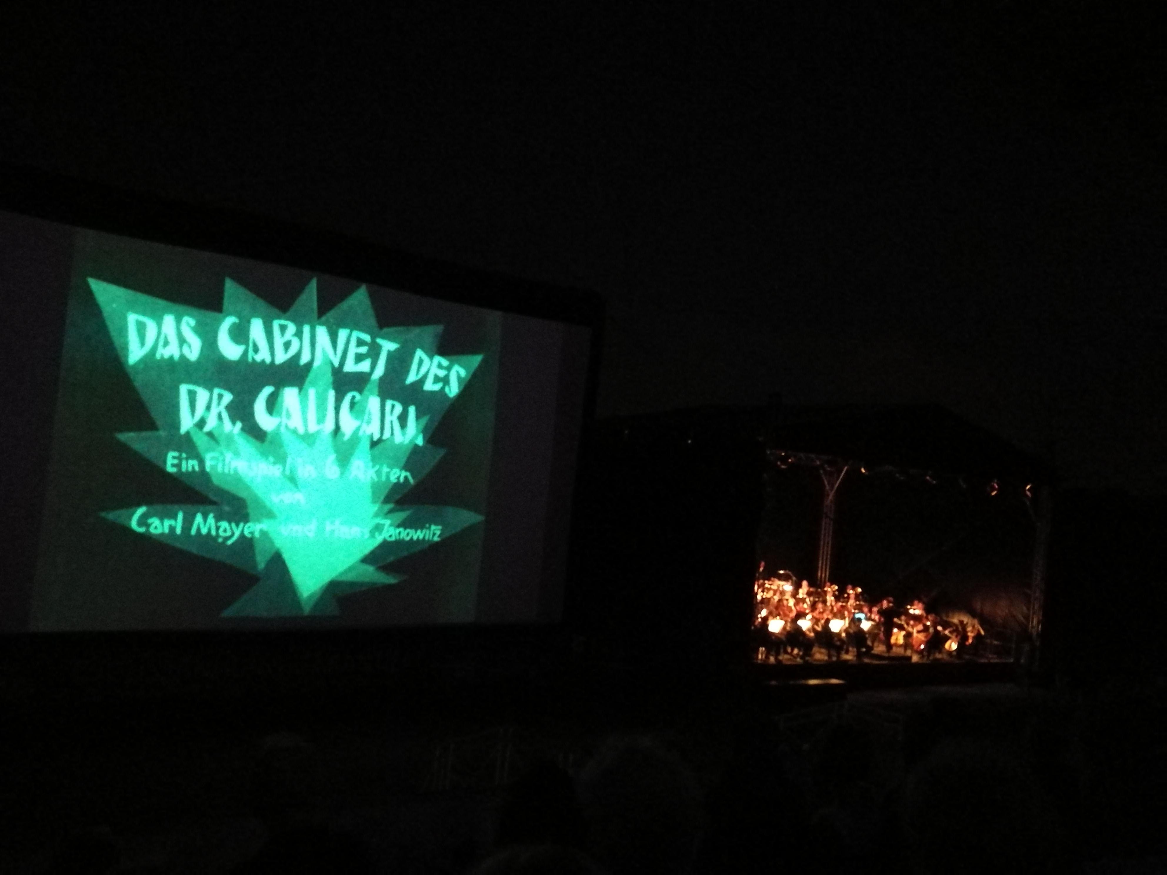 Dr. Caligari mit Live-Musik von den Niederrheinischen Sinfonikern
