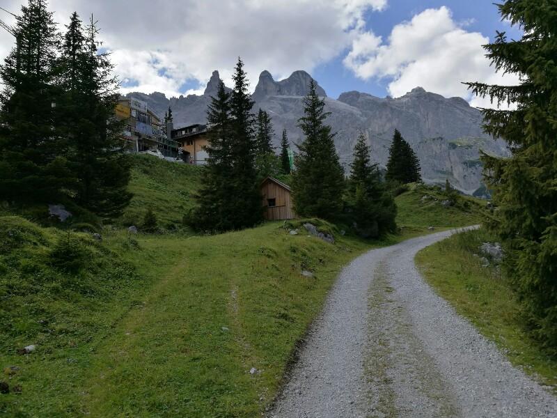 An der Lindauer Hütte wird gebaut
