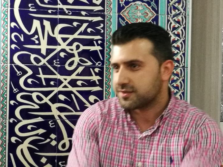 Mehmet Demir inder Yunus Emre Moschee