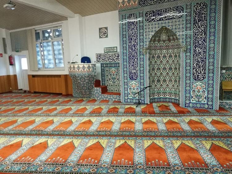 Teppich in der Yunus Emre Moschee