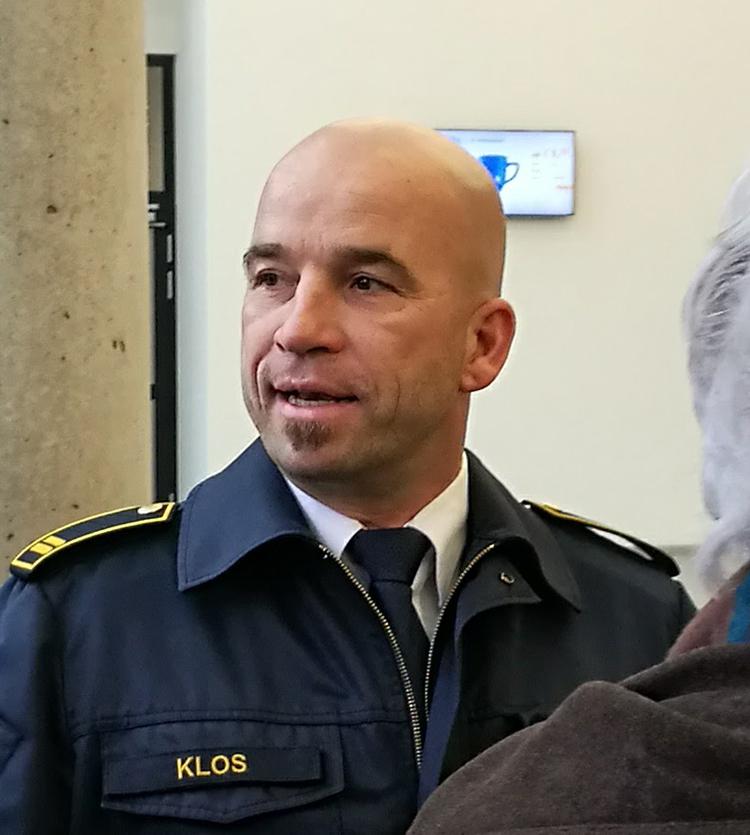 Andreas Klos, Oberbrandrat der Krefelder Feuerwehr