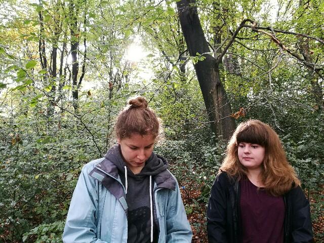 Vielleicht bekommen die Wanderschwalben bald Zuwachs. Jelena und Irina haben Geschmack gefunden am Wandern mit Gudrun Brauwers