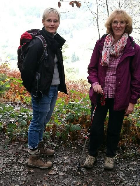 Wanderschwalbe Gudrun Brauwers hat auch den Bergischen Wanderweg auf ihrem Plan