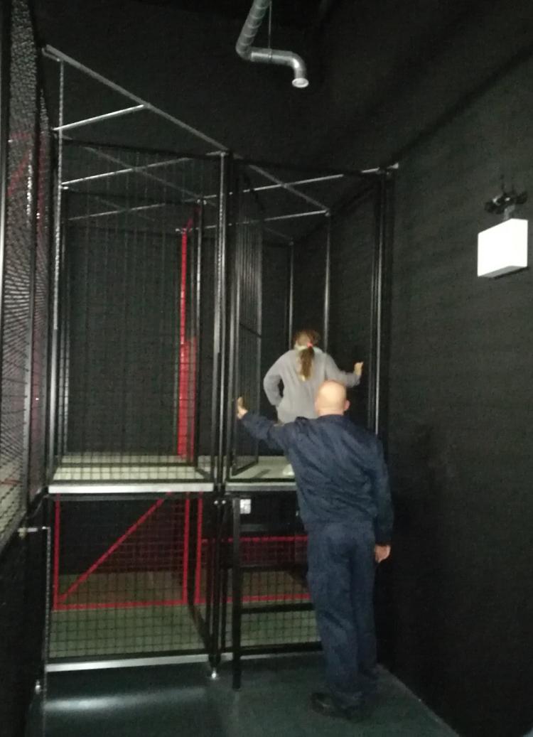 Atemschutzübung in der neuen Feuerwache Krefeld
