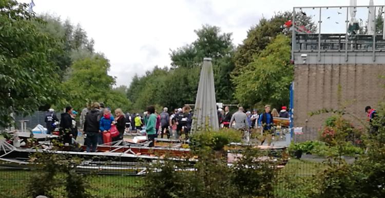 Start des Rheinmarathons: Der RHTC Leberkusen