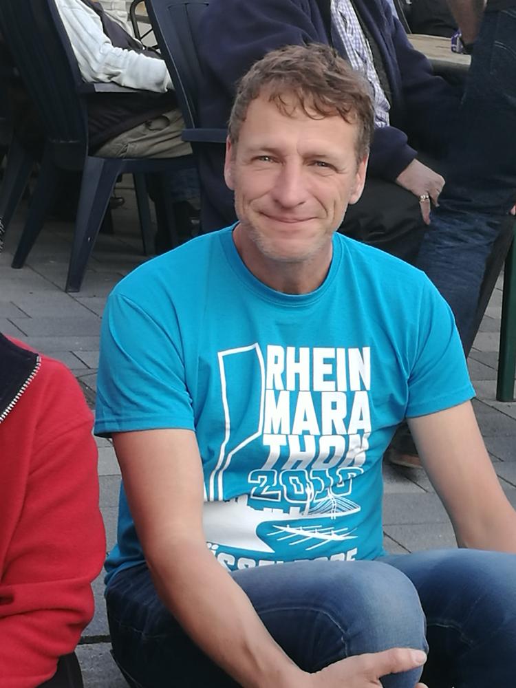 T-Shirt vom Rheinmarathon