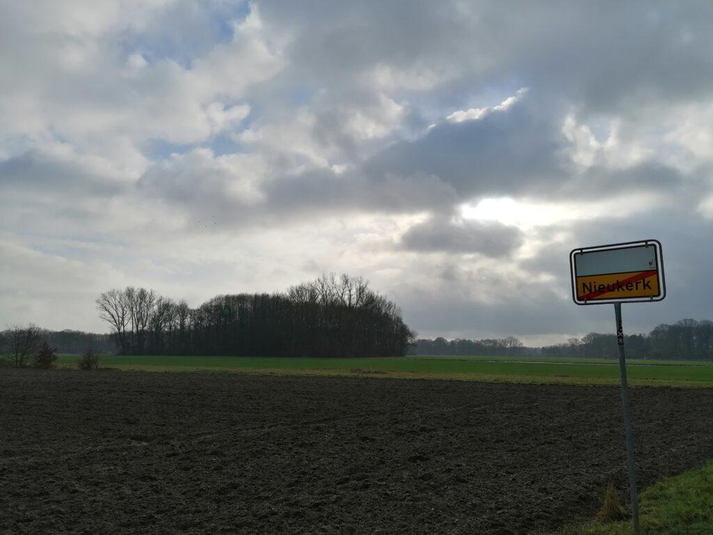 Ortsausgang Nieukerk Richtung Eyller Bruch